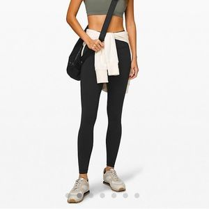 "lululemon | wunder under 25"" high rise leggings"